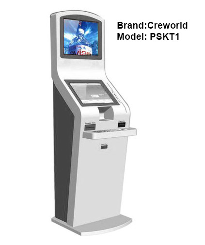 23.8 inch Dual Display Information Kiosk